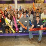 Samet team volunteers with Cradles to Crayons