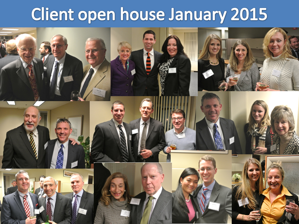 Client open house collage January 2015