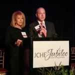 Norman Posner co-chair of JCHE Jubilee 50 Year Celebration